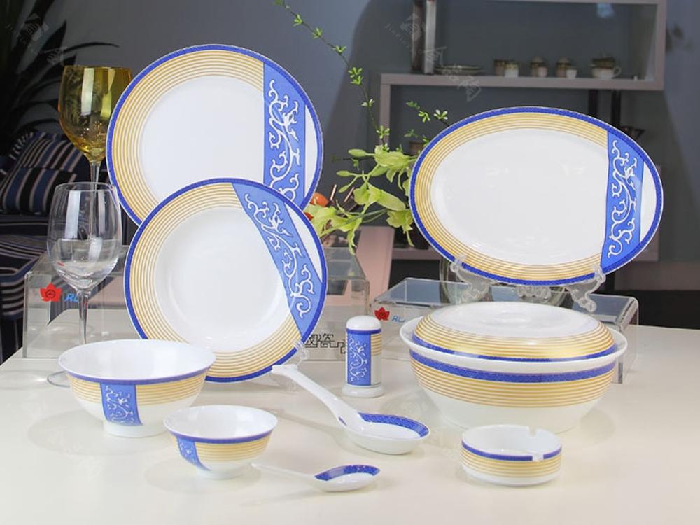 46头中餐具(综合彩)--福龙